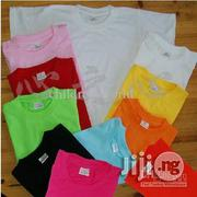 Children Colourful 100% Cotton Plain Tee Shirt (Wholesale Only) | Children's Clothing for sale in Lagos State, Lagos Mainland