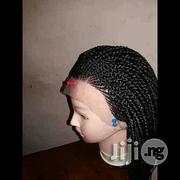 Ghana Braided Wig With Lace Closure   Hair Beauty for sale in Lagos State, Ojodu