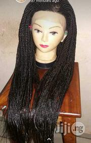 Ghana Braided Wig With Lace Closure | Hair Beauty for sale in Lagos State, Lagos Island