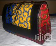 Ankara/ Leather Bag | Bags for sale in Lagos State, Ojota