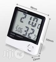 Digital Thermometer and Hygrometer With Clock   Home Accessories for sale in Lagos State, Surulere