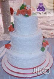 White Wedding Cake | Wedding Venues & Services for sale in Rivers State, Port-Harcourt