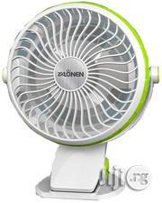 4 Inch Rechargeable Fan: All In One Clip/Desk/Wall Mounted Fan | Home Appliances for sale in Lagos State, Ikeja