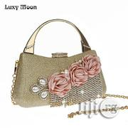 Women's Dinner Flower Clutch Purse | Bags for sale in Lagos State, Lagos Mainland
