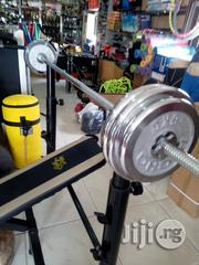 50kg Deluxe Chrome Weight Lifting | Sports Equipment for sale in Abuja (FCT) State, Central Business District