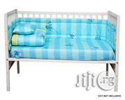 7 Pcs Baby Crib Bedding Set (Smurfs) | Baby & Child Care for sale in Lagos State, Ikeja