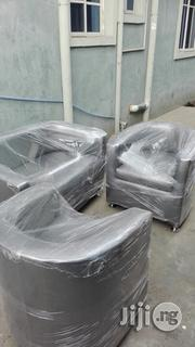 Sofa Durable Leather Chairs   Furniture for sale in Lagos State, Ikoyi