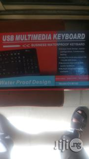 Crystal USB Multimedia Keyboard(French) | Computer Accessories  for sale in Lagos State, Ikeja