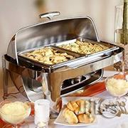 USA Tigerchef 8 Quart Stainless Steel Chafing Dish Roll Top | Kitchen Appliances for sale in Lagos State, Lagos Island