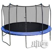 Big Trampoline With Safety Net | Sports Equipment for sale in Lagos State, Surulere