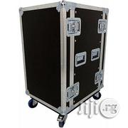 """Universal PROEL - 24unit Road Ready 19"""" Rack Case With Wheels 