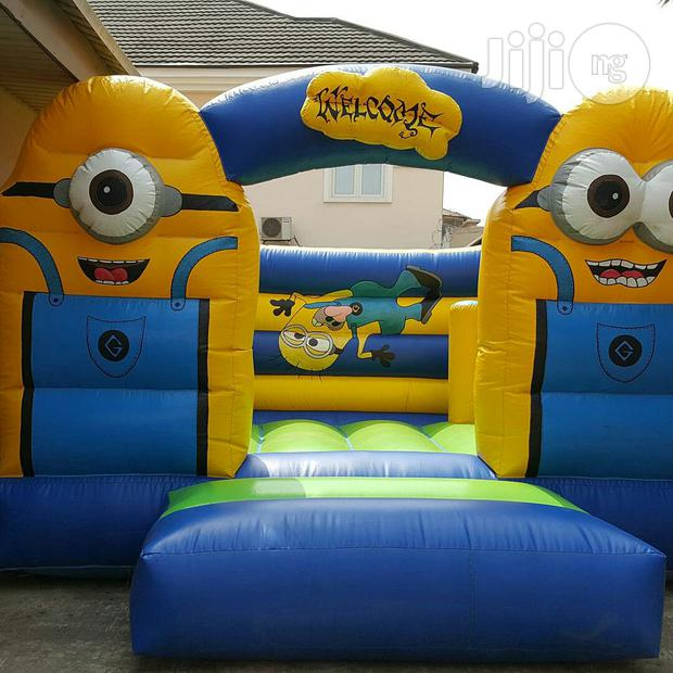 Minion Bouncy Castle