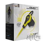 Sms Audio Bio Sport Earbud With Heart Monitor - Yellow | Headphones for sale in Lagos State, Lagos Mainland