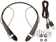 LG TONE Pro HBS-760 Black Wireless Bluetooth Stereo Headset | Accessories for Mobile Phones & Tablets for sale in Lagos State, Ikeja