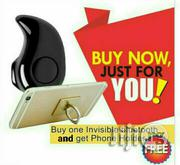 Spy Bluetooth Earpiece And Free Mobile Phone Holder   Vehicle Parts & Accessories for sale in Rivers State, Port-Harcourt