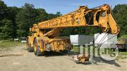 Groove Moto Crane 50 Tons 1999 Yellow For Sale   Heavy Equipments for sale in Lagos State, Amuwo-Odofin