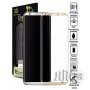 3D Screen Protector For Samsung Galaxy S8 / S8 Plus Gold | Accessories for Mobile Phones & Tablets for sale in Lagos State, Lagos Mainland