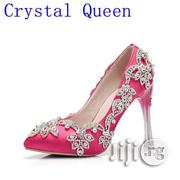 Women's Rhinestones Bridal Pump | Wedding Wear for sale in Lagos State, Lagos Mainland