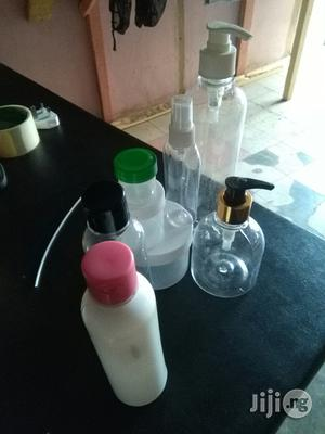 Plastics Containers For Creams, Organic Blackorganic Soap Containers