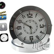 Hidden HD DVR Nanny Cam Desk Clock Pinhole Motion Detection Spy Camera | Security & Surveillance for sale in Lagos State, Lagos Mainland