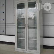 Full Height Glass Door Steel Cabinet | Furniture for sale in Lagos State, Oshodi-Isolo