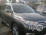 Toyota Highlander Limited 3.5l 4WD 2013 Gray | Cars for sale in Lagos State, Ikeja