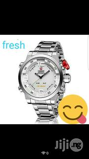 Ohsen Quartz Multi-Functional LED Display Bracelet Watch | Watches for sale in Lagos State, Ikeja