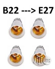 4 Pcs Light Bulb Base Socket Converter: B22 Adapter To E27 Light Bulb | Home Accessories for sale in Lagos State, Ikeja