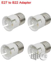 4pcs Light Bulb Socket Converter: E27 Socket To B22 Bulb | Home Accessories for sale in Lagos State, Ikeja