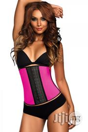 Ann Chery Short Torso Latex Waist Trainer Pink | Clothing Accessories for sale in Lagos State, Ikeja