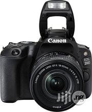 Canon EOS 200D With 18- 55mm Lens   Photo & Video Cameras for sale in Lagos State, Ikeja