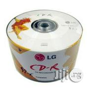 LG CD-R 52x 700MB 80min Logo Printed Top Prmium Quality | CDs & DVDs for sale in Lagos State, Ikeja