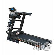 Brand New 3hp German Automatic Inclined Treadmill With Body Massager | Massagers for sale in Rivers State, Port-Harcourt