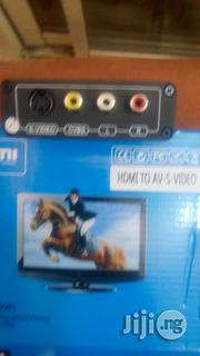 HDMI To Av-s-video Conveter | Accessories & Supplies for Electronics for sale in Lagos State, Ikeja