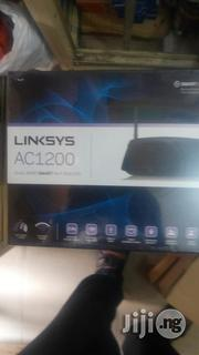 Linksys Ac1200 Wireless Router (Ea6100) | Networking Products for sale in Lagos State, Ikeja