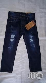 Next Boy Rugged Blue Jean Trouser | Children's Clothing for sale in Lagos State, Amuwo-Odofin