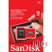 Sandisk 16GB Microsd Memory Card | Accessories for Mobile Phones & Tablets for sale in Lagos State, Ikeja