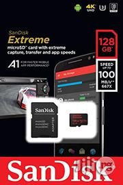 Sandisk Ultra A1 128GB Microsdxc Memory Card   Accessories & Supplies for Electronics for sale in Lagos State, Ikeja
