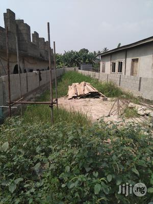Half Plot of Land at Peace Estate Sholuyi, Gbagada For Sale With Reg. Title.