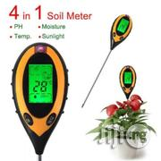 4 In 1 Digital LCD Plant Soil Ph, Temperature, Moisture Sunlight Meter | Measuring & Layout Tools for sale in Lagos State, Amuwo-Odofin