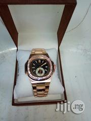 Patek Philippe Rose Gold With Stones Wristwatch | Watches for sale in Lagos State, Surulere