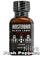 Poppers Amsterdam Black Label 24ml | Sexual Wellness for sale in Lagos State, Surulere