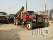 Tokunbo Mack Ten Tyres Water Drilling Rig Truck 1991 Red | Heavy Equipments for sale in Lagos State, Apapa
