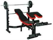New Commercial Weight Lifting Bench With Weight | Sports Equipment for sale in Lagos State, Surulere