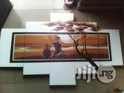 African Woman In Sunset Artwork White | Arts & Crafts for sale in Cross River State, Calabar-Municipal