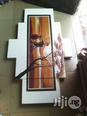 White Background Aftican Woman Artwork Hand Painted | Arts & Crafts for sale in Abuja (FCT) State, Asokoro