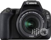 Canon EOS 200D DSLR Camera With Warranty | Photo & Video Cameras for sale in Lagos State, Lagos Island