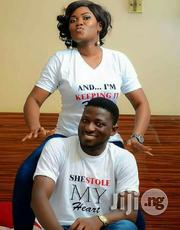 Customized Couple Tee Polo | Wedding Wear for sale in Lagos State, Ojodu