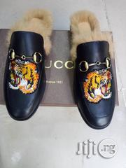 Gucci Half Shoe With Soft Hair | Shoes for sale in Lagos State, Ikoyi