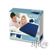 Classic Queen Size Inflatable Air Bed Mattress With Pump And 2 Pillows   Furniture for sale in Lagos State, Lagos Island